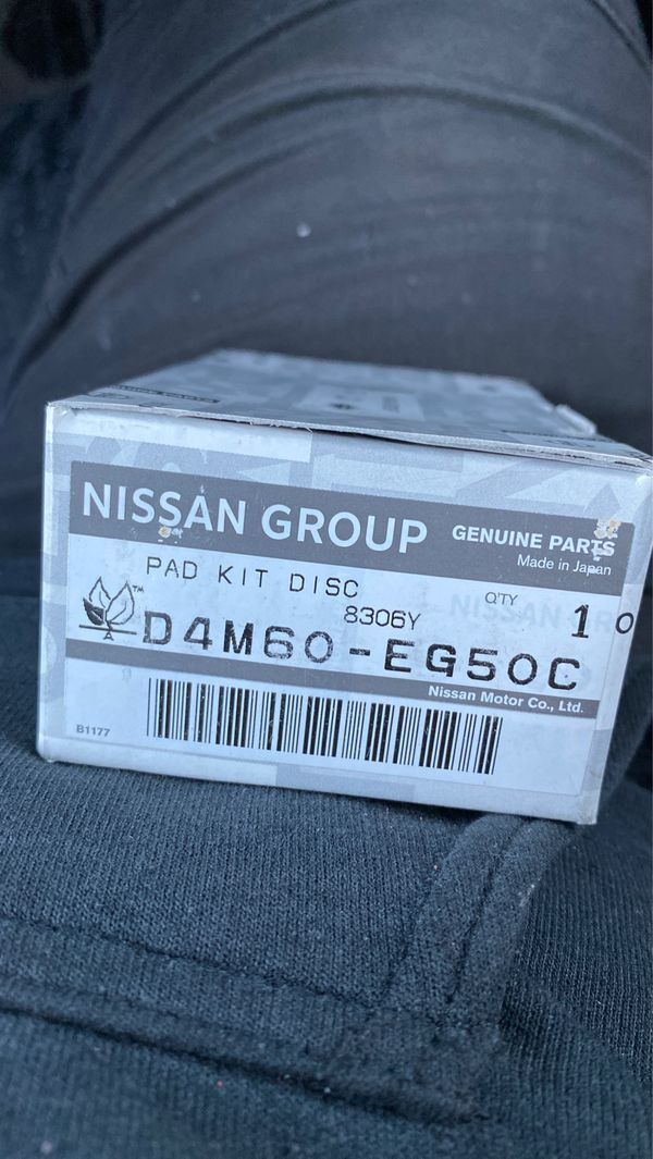 Infiniti brake pads D4M60-EG50C