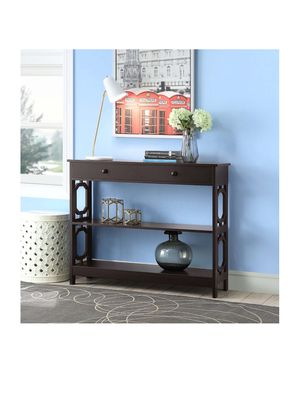 Convenience Concepts Omega 1 Drawer Console Table 6B-1352 for Sale in St. Louis, MO