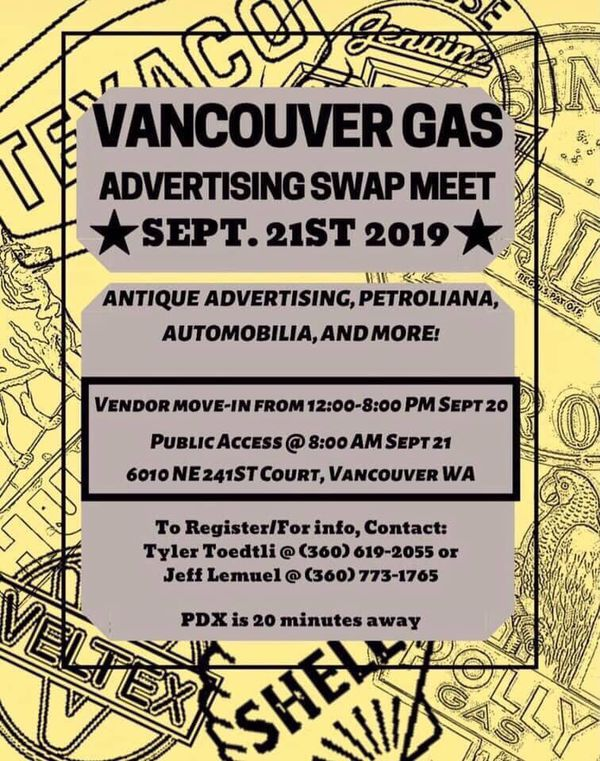 VANCOUVER GAS - Antique Advertising/Petroliana/More
