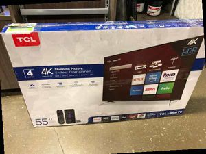 "55"" TCL Roku Tv❗️ FTY for Sale in Colton, CA"