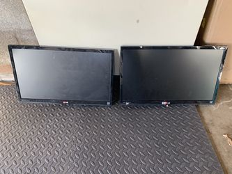 Dual lg monitors for Sale in Vancouver,  WA