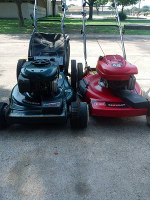 2 combo lawn mowers CRAFTSMAN & TORO for Sale in Garland, TX