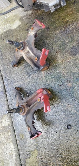 1985 chevy disc brakes stock spindles for Sale in Vancouver, WA