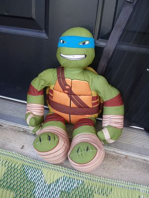 Stuffed animal Mikey from Ninja turtles for Sale in Middleburg Heights, OH