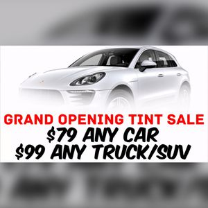 Grand Opening Tint Specials for Sale in Tampa, FL