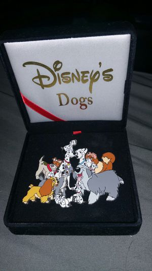 Collectable disney dogs collectors pin for Sale in Plano, TX