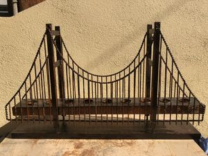 Golden Gate Bridge - CANDLE HOLDER size - 32x6x18in for Sale in Burbank, CA