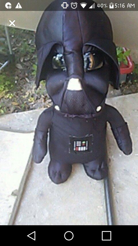 Star Wars stuffed. Action Figure