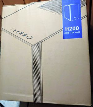 NZXT H200 MINI ITX PC CASE for Sale in Lakewood, CA