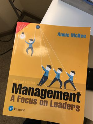 Management A Focus on Leaders book for Sale in Tempe, AZ