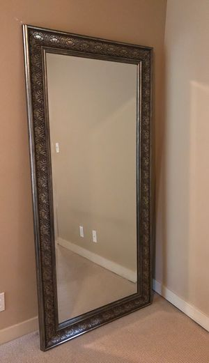 Large framed stand up Mirror for Sale in Seattle, WA