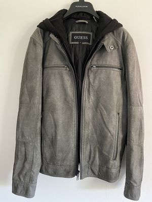 Guess faux leather jacket small for Sale in Grand Prairie, TX