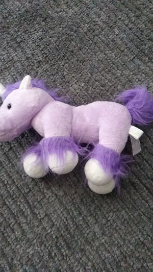 Purple unicorn stuffed animal for Sale in Fullerton, CA