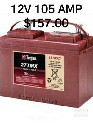 12V 105 AMP SOLAR BATTERIE for Sale in Miramar, FL