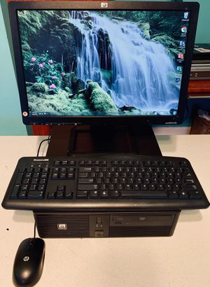 HP RP5700 Desktop PC Computer System 160GB HDD, Intel Celeron, 2.00GHz, 2GB RAM for Sale in Coral Springs, FL