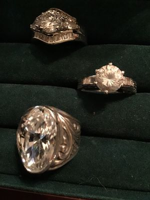 Real 925 rings for Sale in Milledgeville, GA