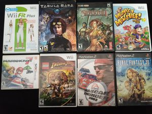 Bundle of Game Cases w/ Manuals for Sale in Tampa, FL