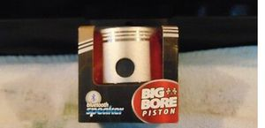 Big Bore Piston Bluetooth Speaker loud w/led light./usb cable/& 3.5mm audio wire only 13$ reatails 24.99 for Sale in Edwardsville, PA