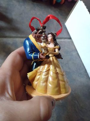 Disney beauty and the beast sketchbook Christmas ornament for Sale in Poinciana, FL