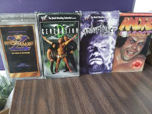 wwf vhs tapes for Sale in Los Angeles, CA
