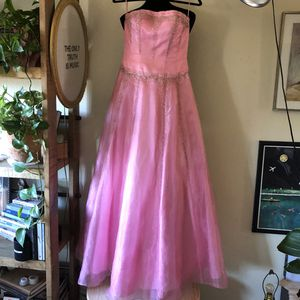 Pink prom maxi formal gown dress for Sale in San Diego, CA