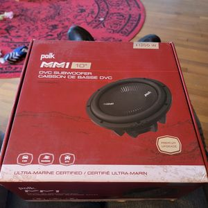 """Polk 10"""" MM1 Subwoofer for Sale in Shelby, NC"""