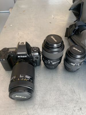 Nikon N8008s + 2 lenses for Sale in Minden, NV