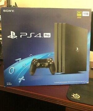 Sony PlayStation 4 Pro / PS4 - 4K - Brand NEW & SEALED + Warranty for Sale in Springfield, VA