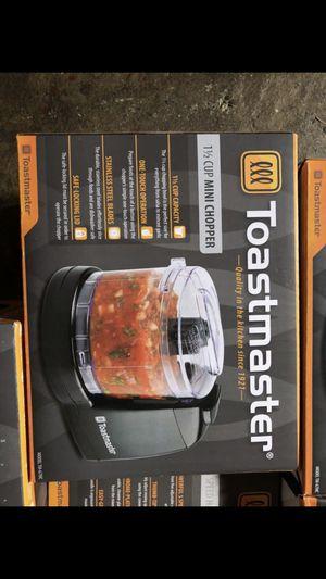 Toastmaster Mini chopper 1 1/2 cup Brand New for Sale in Lodi, CA