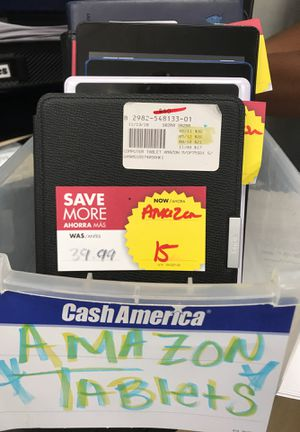 Amazon kindle fire, paper whites tablets for Sale in Mukilteo, WA