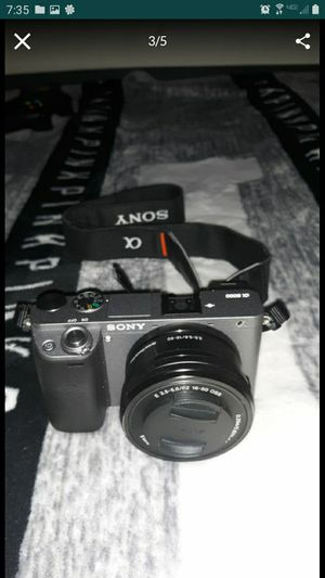Sony a6000 camera for Sale in Eastvale, CA
