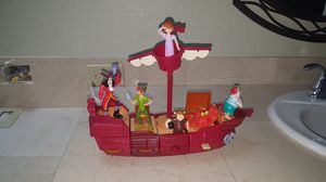 Disney McDonald's Toy Collection 2002 Neverland Pirate Ship for Sale in Vancouver, WA