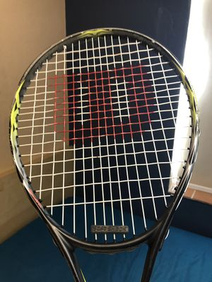 """Wilson TX26 4""""LO tennis racket used but in good condition besides grip for Sale in Miami, FL"""