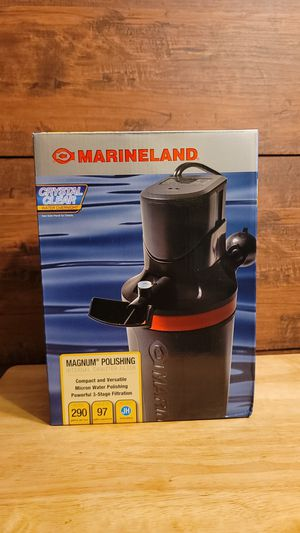 Marineland internal filter/ water polisher for aquarium/fishtank for Sale in Washington, DC