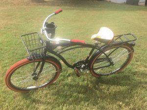 "Huffy 26"" Nel Lusso Men's Single-Speed Comfort Cruiser Bike, Black for Sale in Sugar Hill, GA"