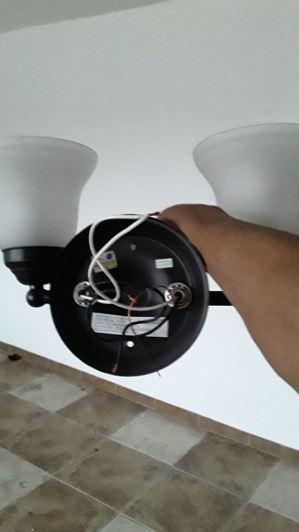 Hampton Bay Dual Vanity Lamp