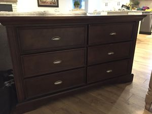 6 Drawer wood dresser for Sale in Kent, WA