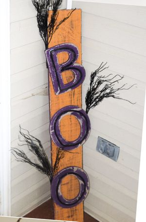 """BOO"" Wooden Halloween Decoration for Sale in Canton, GA"
