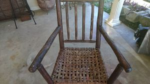 Antique wood chair for Sale in Greenwood, MS