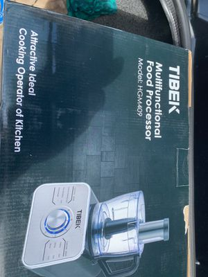 Tibek brand new food processor limited quantity for Sale in Rancho Cucamonga, CA