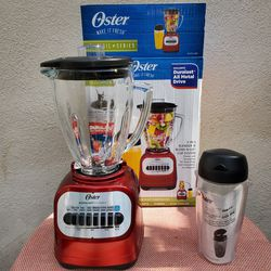 NEW OSTER 10 speed ( 700 watts)2 -in -1 Blender and Blend-N- Go System Cup for Sale in Paramount,  CA