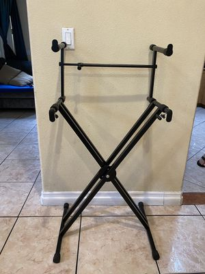 double keyboard stand for Sale in South Gate, CA