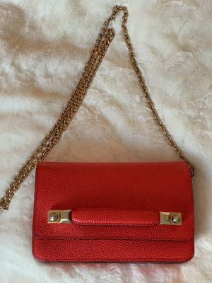 Henri Bendel Red Cross Body w/ Gold Chain for Sale in Tampa, FL