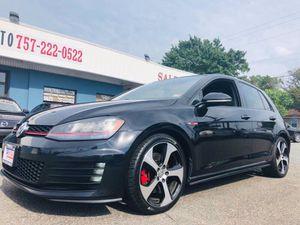 2015 Volkswagen Golf GTI for Sale in Norfolk, VA
