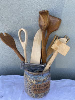 Kitchen wood utensils for Sale in Buena Park, CA