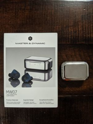 Master & Dynamic MW07 In Ear True Wireless Headphones - Steel Blue for Sale in Oklahoma City, OK