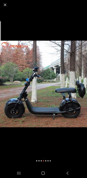 Fat tire electric scooter 45 mph for Sale in Anaheim, CA