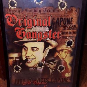 Al Capone Poster for Sale in Merced, CA