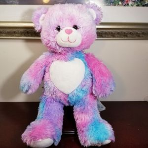 "Build A Bear Tie Dye Hearts 16"" for Sale in Romeoville, IL"