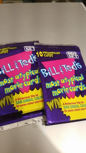 Bill and Ted's Attpical cards for Sale in East Wenatchee, WA